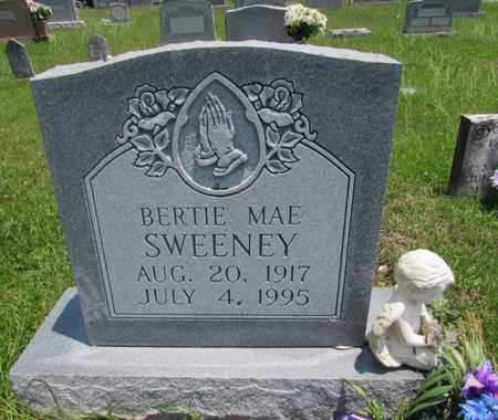 SWEENEY, BERTIE MAE - Giles County, Tennessee | BERTIE MAE SWEENEY - Tennessee Gravestone Photos