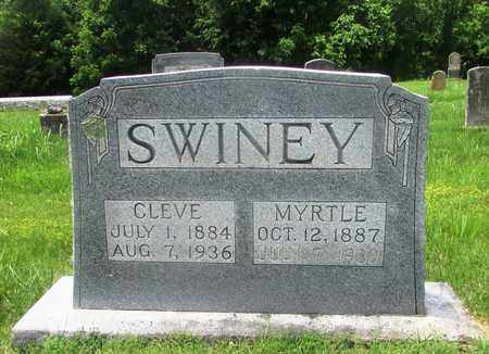 SWINEY, CLEVE - Giles County, Tennessee | CLEVE SWINEY - Tennessee Gravestone Photos