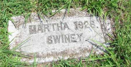 SWINEY, MARTHA - Giles County, Tennessee   MARTHA SWINEY - Tennessee Gravestone Photos