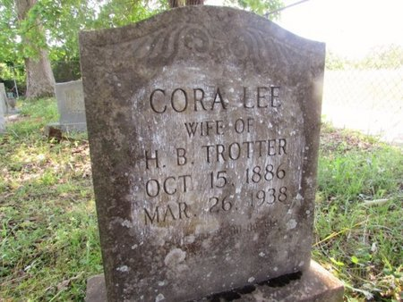 TROTTER, CORA - Giles County, Tennessee | CORA TROTTER - Tennessee Gravestone Photos