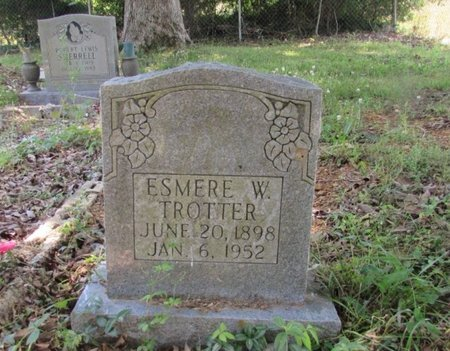 TROTTER, ESMERE W. - Giles County, Tennessee | ESMERE W. TROTTER - Tennessee Gravestone Photos