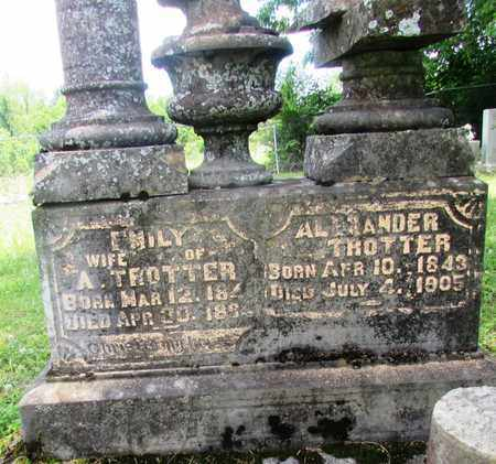 TROTTER, EMILY - Giles County, Tennessee | EMILY TROTTER - Tennessee Gravestone Photos