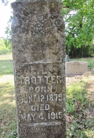 TROTTER, L. L. - Giles County, Tennessee | L. L. TROTTER - Tennessee Gravestone Photos