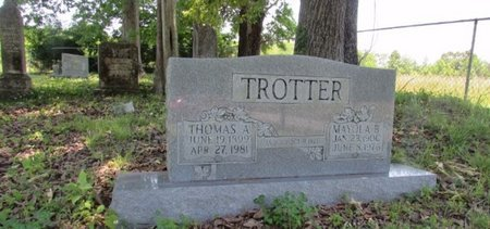 TROTTER, MAYOLA B. - Giles County, Tennessee | MAYOLA B. TROTTER - Tennessee Gravestone Photos