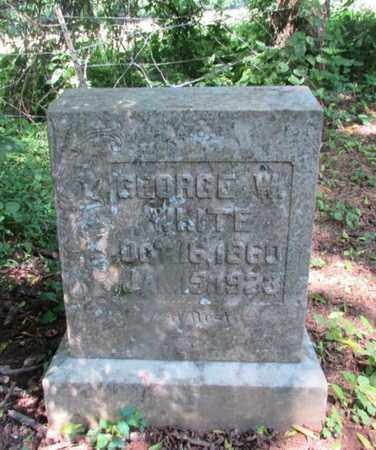 WHITE, GEORGE W. - Giles County, Tennessee | GEORGE W. WHITE - Tennessee Gravestone Photos
