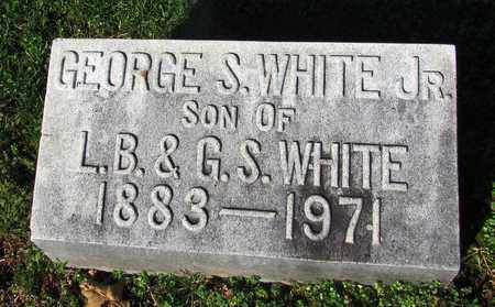 WHITE, GEORGE S. JR. - Giles County, Tennessee | GEORGE S. JR. WHITE - Tennessee Gravestone Photos