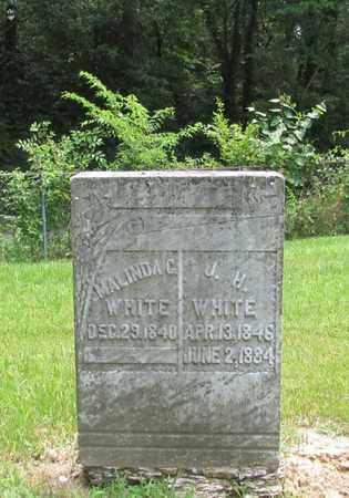 WHITE, MALINDA C. - Giles County, Tennessee | MALINDA C. WHITE - Tennessee Gravestone Photos