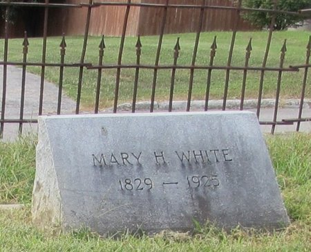 WHITE, MARY HOSKINS - Giles County, Tennessee | MARY HOSKINS WHITE - Tennessee Gravestone Photos