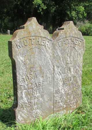 WHITE, ROSA ANN ELIZABETH - Giles County, Tennessee | ROSA ANN ELIZABETH WHITE - Tennessee Gravestone Photos