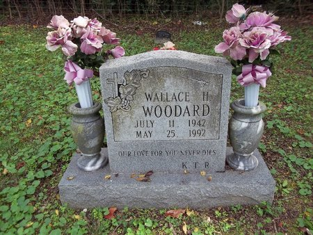 WOODARD, WALLACE H. - Giles County, Tennessee | WALLACE H. WOODARD - Tennessee Gravestone Photos