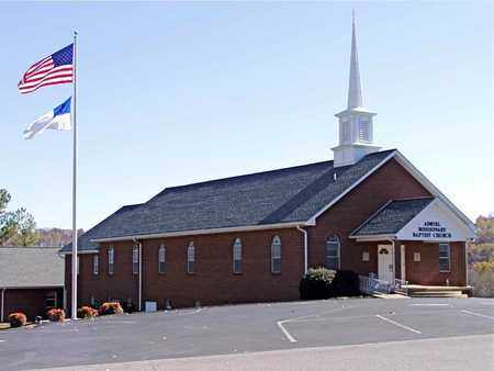 * ADRIEL BAPTIST CHURCH,  - Grainger County, Tennessee |  * ADRIEL BAPTIST CHURCH - Tennessee Gravestone Photos