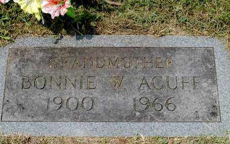 ACUFF, BONNIE W. - Grainger County, Tennessee | BONNIE W. ACUFF - Tennessee Gravestone Photos