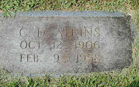 ATKINS, C. D. - Grainger County, Tennessee | C. D. ATKINS - Tennessee Gravestone Photos