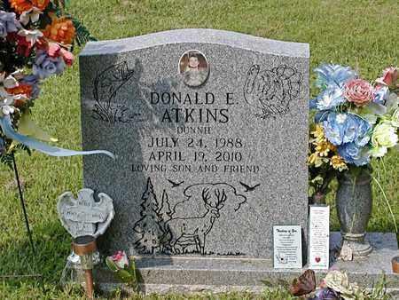 ATKINS, DONALD E. - Grainger County, Tennessee | DONALD E. ATKINS - Tennessee Gravestone Photos