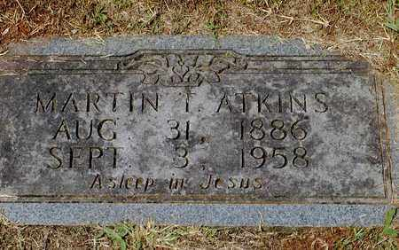 ATKINS, MARTIN T. - Grainger County, Tennessee | MARTIN T. ATKINS - Tennessee Gravestone Photos