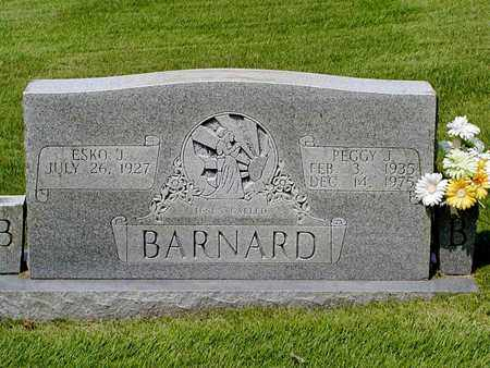 BARNARD, PEGGY J. - Grainger County, Tennessee   PEGGY J. BARNARD - Tennessee Gravestone Photos