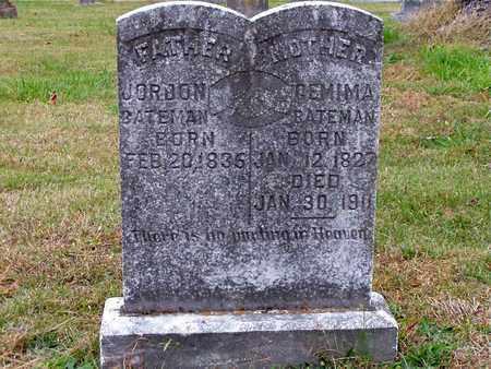 BATEMAN, GEMIMA - Grainger County, Tennessee | GEMIMA BATEMAN - Tennessee Gravestone Photos