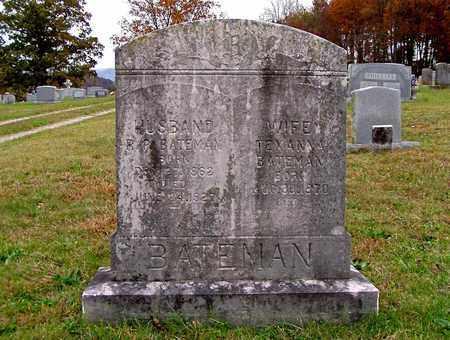 BATEMAN, R. P. - Grainger County, Tennessee | R. P. BATEMAN - Tennessee Gravestone Photos