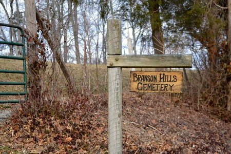 *BRANSON HILLS SIGN,  - Grainger County, Tennessee    *BRANSON HILLS SIGN - Tennessee Gravestone Photos