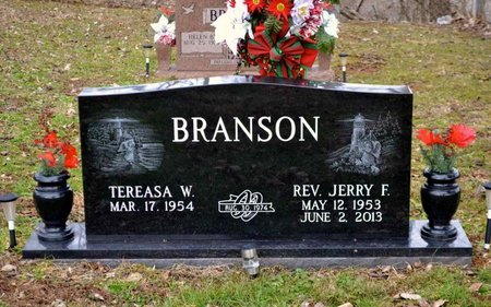 BRANSON, JERRY F. - Grainger County, Tennessee | JERRY F. BRANSON - Tennessee Gravestone Photos