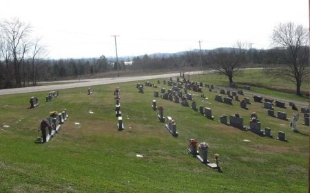 *CEMETERY VIEW,  - Grainger County, Tennessee |  *CEMETERY VIEW - Tennessee Gravestone Photos