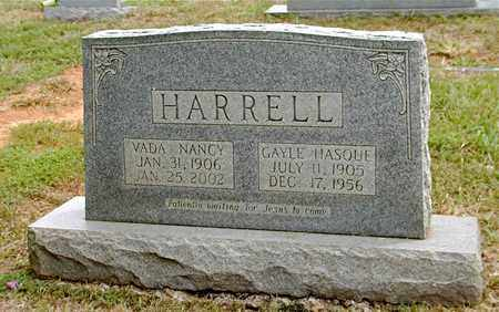 HARRELL, VADA NANCY - Grainger County, Tennessee | VADA NANCY HARRELL - Tennessee Gravestone Photos