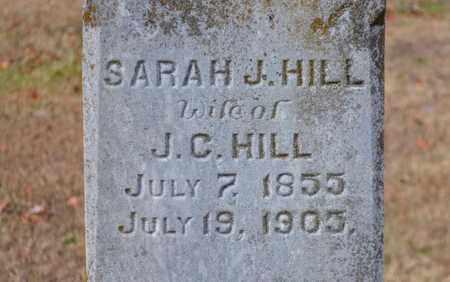 HILL, SARAH J. (CLOSE UP) - Grainger County, Tennessee   SARAH J. (CLOSE UP) HILL - Tennessee Gravestone Photos