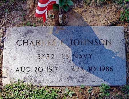 JOHNSON (VETERAN), CHARLES F. - Grainger County, Tennessee | CHARLES F. JOHNSON (VETERAN) - Tennessee Gravestone Photos