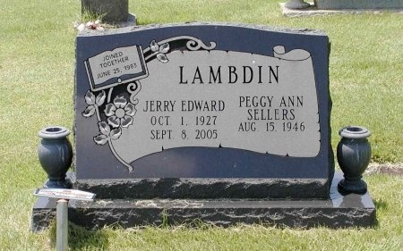 LAMBDIN, JERRY EDWARD - Grainger County, Tennessee | JERRY EDWARD LAMBDIN - Tennessee Gravestone Photos