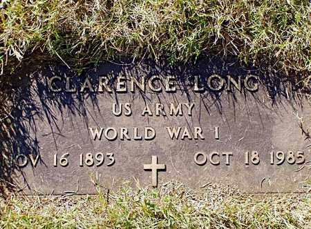LONG  (VETERAN WWI), CLARENCE - Grainger County, Tennessee | CLARENCE LONG  (VETERAN WWI) - Tennessee Gravestone Photos
