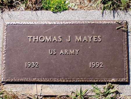 MAYES, THOMAS J. - Grainger County, Tennessee | THOMAS J. MAYES - Tennessee Gravestone Photos