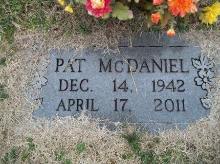 MCDANIEL, PAT - Grainger County, Tennessee | PAT MCDANIEL - Tennessee Gravestone Photos