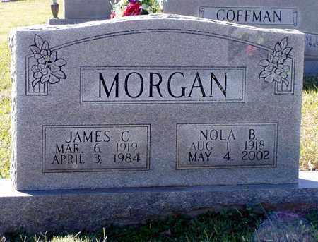 MORGAN, NOLA B. - Grainger County, Tennessee   NOLA B. MORGAN - Tennessee Gravestone Photos