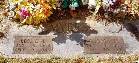 MYERS, GEORGE N. - Grainger County, Tennessee | GEORGE N. MYERS - Tennessee Gravestone Photos