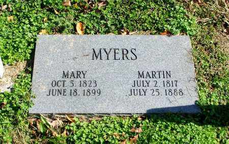 MYERS, MARTIN - Grainger County, Tennessee | MARTIN MYERS - Tennessee Gravestone Photos
