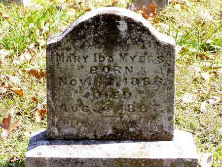 MYERS, MARY IDA - Grainger County, Tennessee   MARY IDA MYERS - Tennessee Gravestone Photos