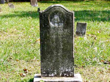 MYERS, TEMPERANCE - Grainger County, Tennessee | TEMPERANCE MYERS - Tennessee Gravestone Photos
