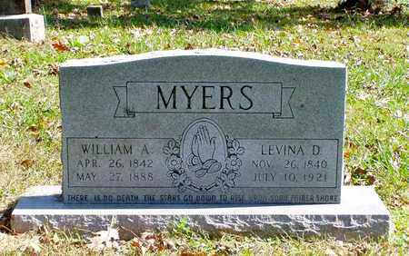 MYERS, LEVINA D. - Grainger County, Tennessee   LEVINA D. MYERS - Tennessee Gravestone Photos