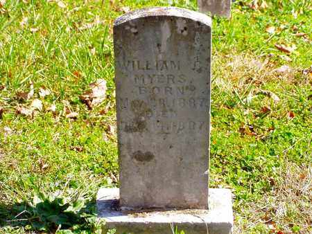 MYERS, WILLIAM C. - Grainger County, Tennessee | WILLIAM C. MYERS - Tennessee Gravestone Photos