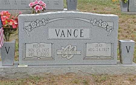 VANCE, HESTON - Grainger County, Tennessee   HESTON VANCE - Tennessee Gravestone Photos