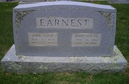 EARNEST, MARY - Greene County, Tennessee   MARY EARNEST - Tennessee Gravestone Photos