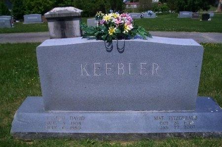 KEEBLER, JOSEPH DONALD - Greene County, Tennessee   JOSEPH DONALD KEEBLER - Tennessee Gravestone Photos