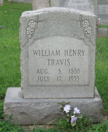 TRAVIS, WILLIAM HENRY - Greene County, Tennessee | WILLIAM HENRY TRAVIS - Tennessee Gravestone Photos