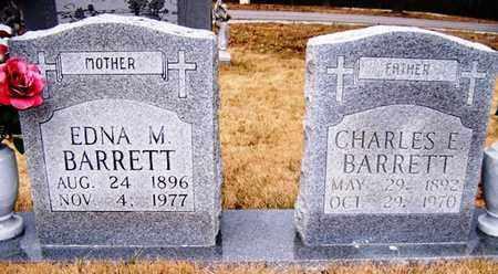 BARRETT, CHARLES E. - Grundy County, Tennessee | CHARLES E. BARRETT - Tennessee Gravestone Photos
