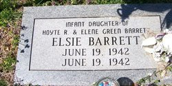 BARRETT, ELSIE - Grundy County, Tennessee | ELSIE BARRETT - Tennessee Gravestone Photos