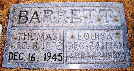 BARRETT, THOMAS - Grundy County, Tennessee | THOMAS BARRETT - Tennessee Gravestone Photos