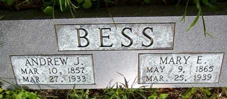 BESS, ANDREW J. - Grundy County, Tennessee | ANDREW J. BESS - Tennessee Gravestone Photos