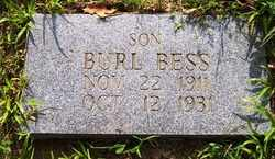 BESS, BURL - Grundy County, Tennessee | BURL BESS - Tennessee Gravestone Photos