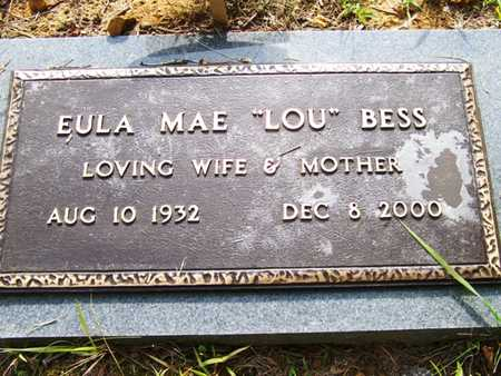 BESS, EULA MAE - Grundy County, Tennessee | EULA MAE BESS - Tennessee Gravestone Photos
