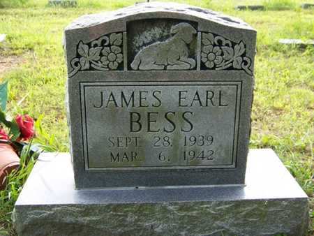 BESS, JAMES EARL - Grundy County, Tennessee   JAMES EARL BESS - Tennessee Gravestone Photos